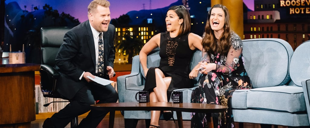Things Got Awkward When Gina Rodriguez Asked Idina Menzel About Losing Her Virginity —You Have to Watch!