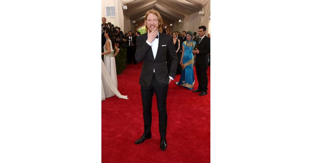Domhnall Gleeson | Celebrities at the Met Gala For the ...