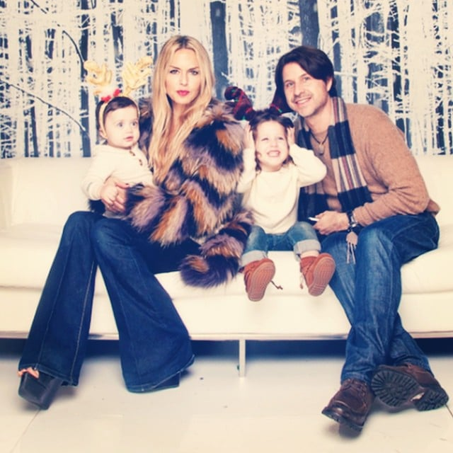Rachel Zoe and her family wished everyone a merry Christmas.