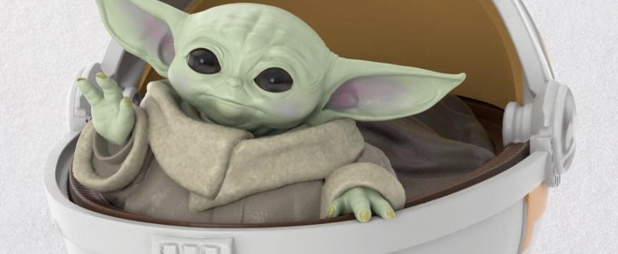 Baby Yoda Christmas Ornaments