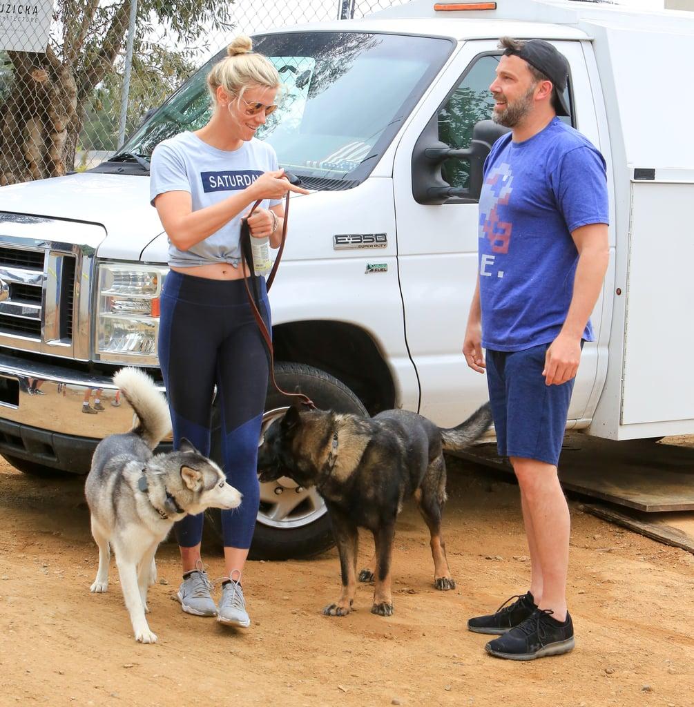 Ben Affleck and Lindsay Shookus Out in LA June 2018