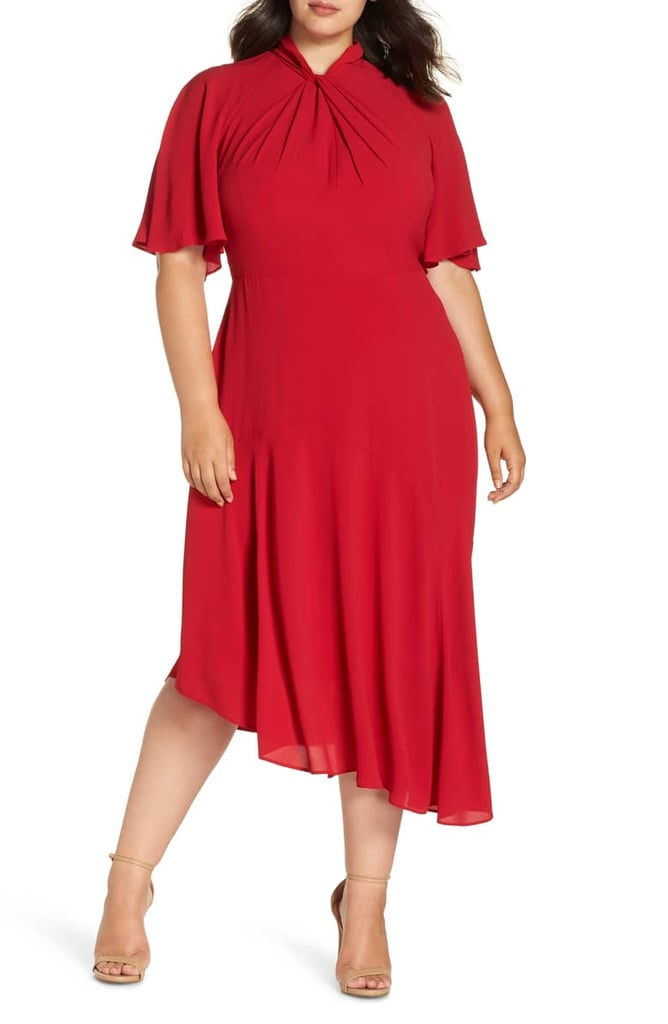 Maggy London Asymmetrical Midi Dress Best Dresses From Nordstrom
