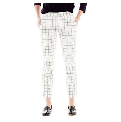 The windowpane print lives on with these Joe Fresh slim printed pants ($39) — we'll wear them with a chunky knit sweater and our favorite brogues.