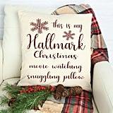 Hallmark Christmas Movie Decorative Pillow Cover