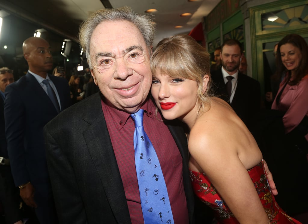 Andrew Lloyd Webber and Taylor Swift at the Cats World Premiere in NYC