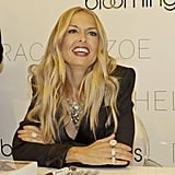 Rachel Zoe was happy to meet fans on Fashion's Night Out.