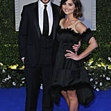 Lovebirds Richard Madden and Jenna-Louise Coleman made a red carpet appearance together at the UK premiere of Cinderella on Thursday night.