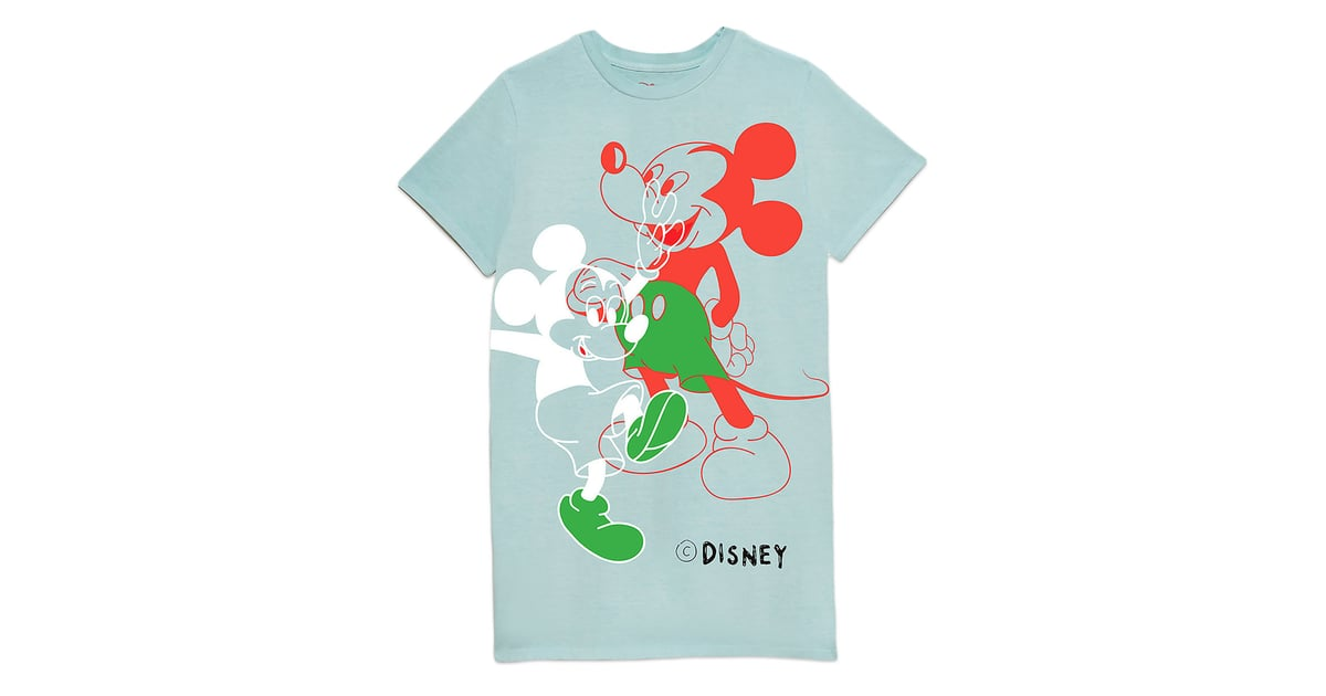 1f6ada0a218525 Disney Mickey Mouse T-Shirt Dress for Women by Opening Ceremony   Opening  Ceremony Disney Collection 2018   POPSUGAR Fashion Photo 52