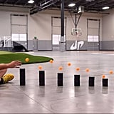 3. Dude Perfect's Ping Pong Trick Shots 3