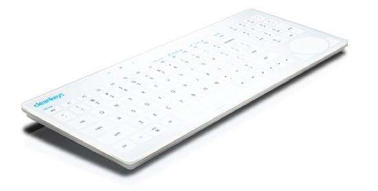 Keyboard That Keeps Germs Away