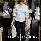 Reese Witherspoon Shows Off Her Fit Figure For a Smiley Lunch