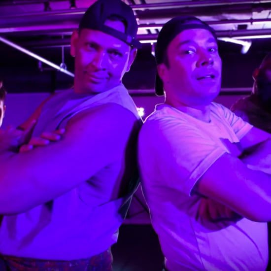 Alex Rodriguez and Jimmy Fallon Tonight Show Dance Video