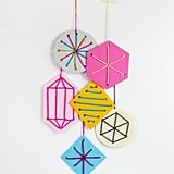Sewing Card Ornaments