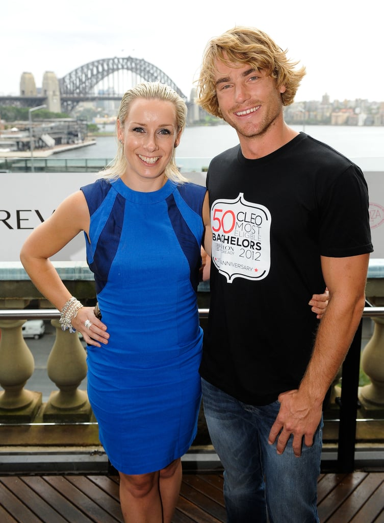 Gemma Crisp and Hayden Quinn