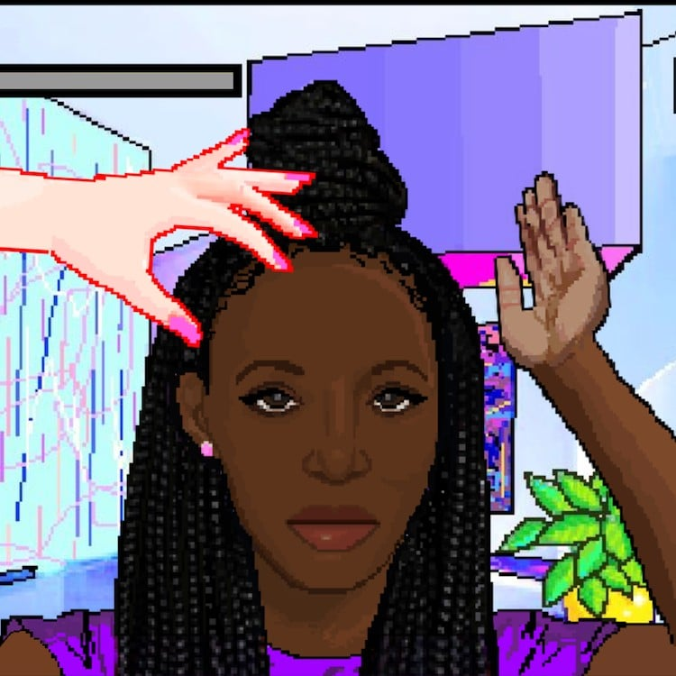 What Is Hair Nah? Video Game of Touching Black Hair