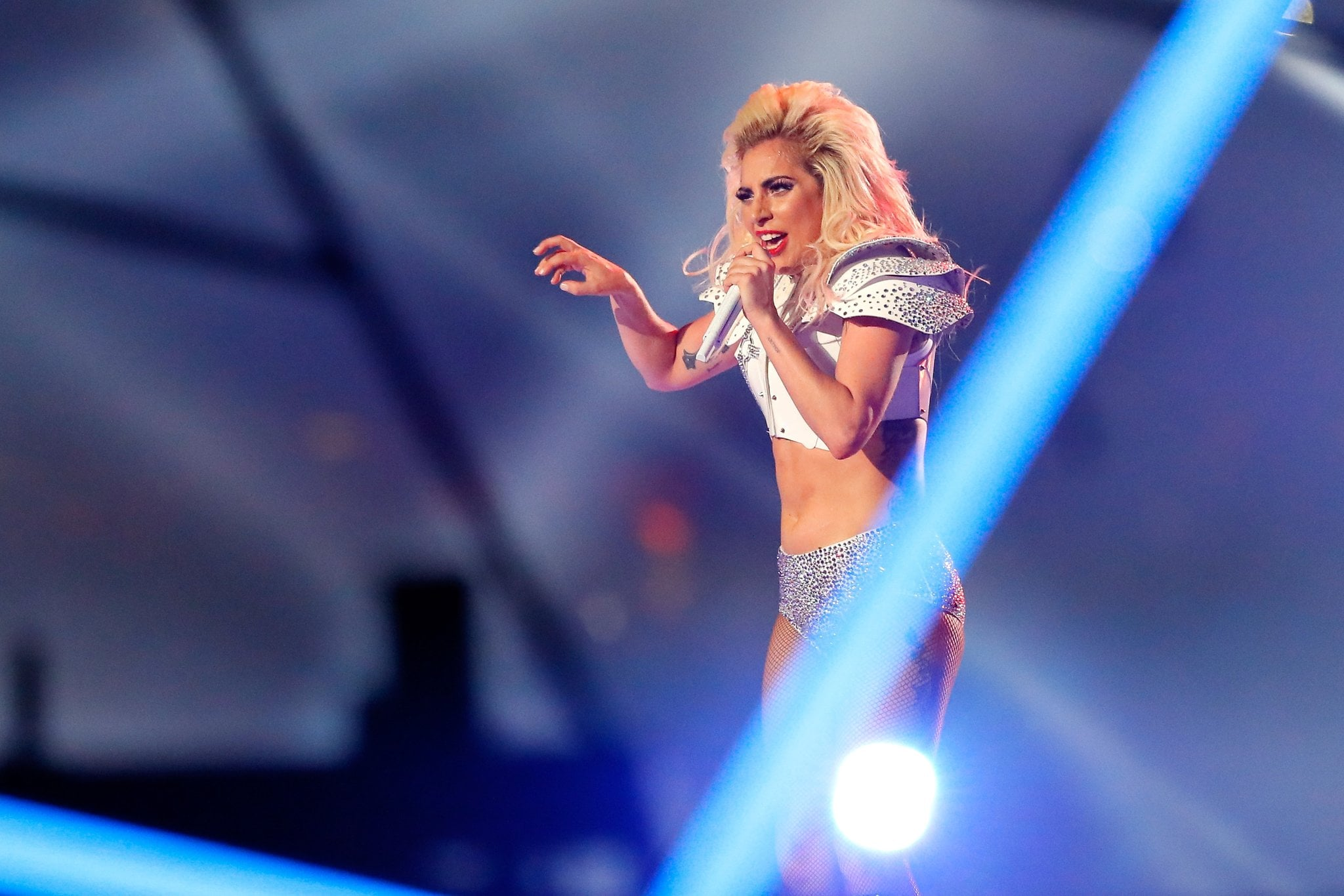 Heres Every Product Lady Gaga Used For Her Super Bowl Makeup