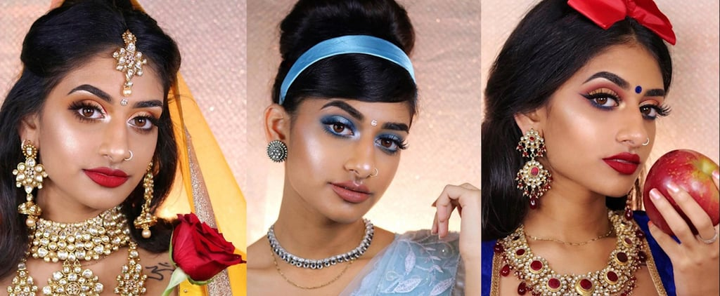 Makeup Artist Reimagines 8 Disney Princesses With an Indian Twist — and It's Gorgeous!