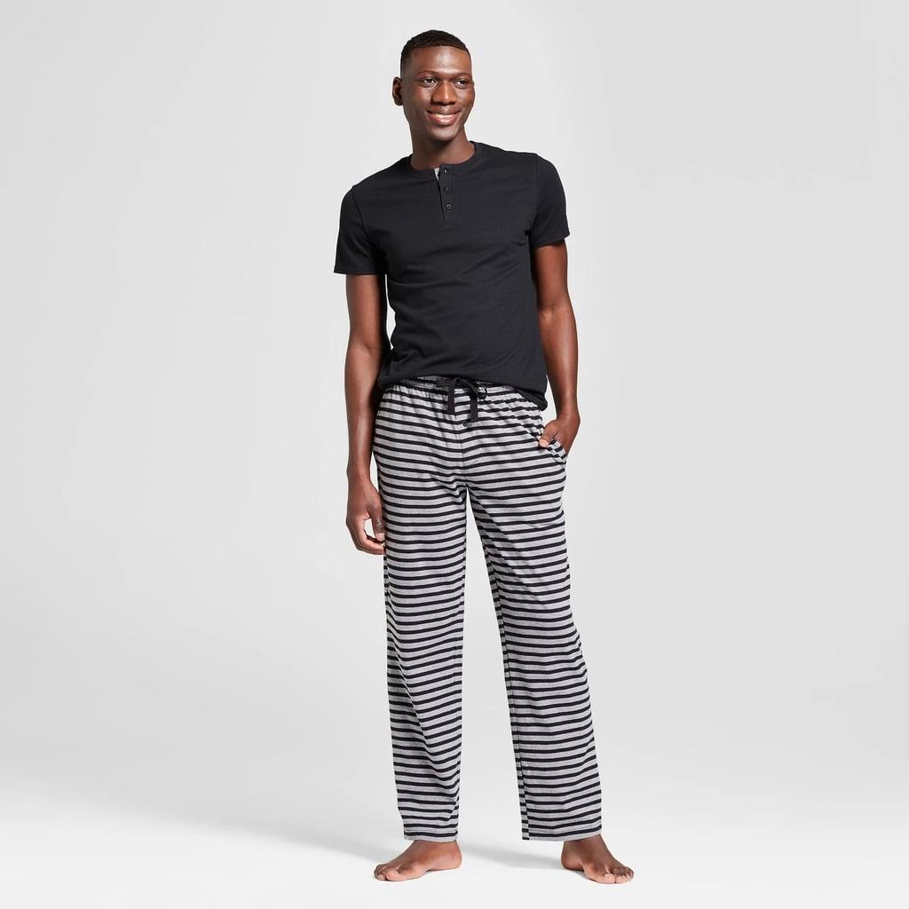 Men's Knit Pajama Set