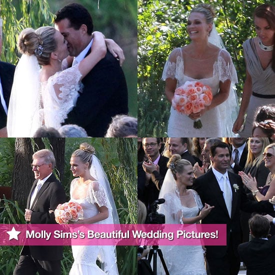 Beautiful Pictures From Molly Sims's Wedding to Scott Stuber!