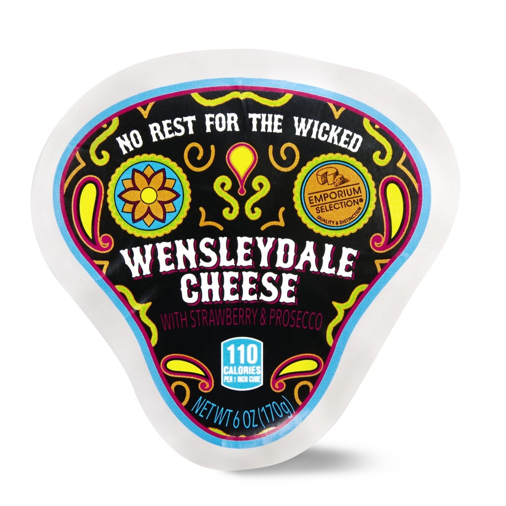 Aldi's No Rest For the Wicked Day of the Dead Wensleydale Cheese