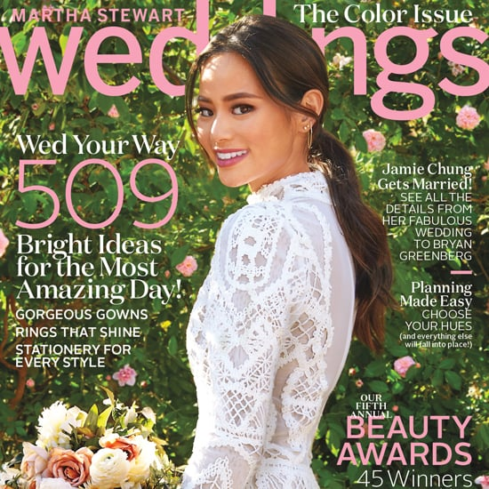 Jamie Chungs Wedding Dress In Martha Stewart Weddings 2016