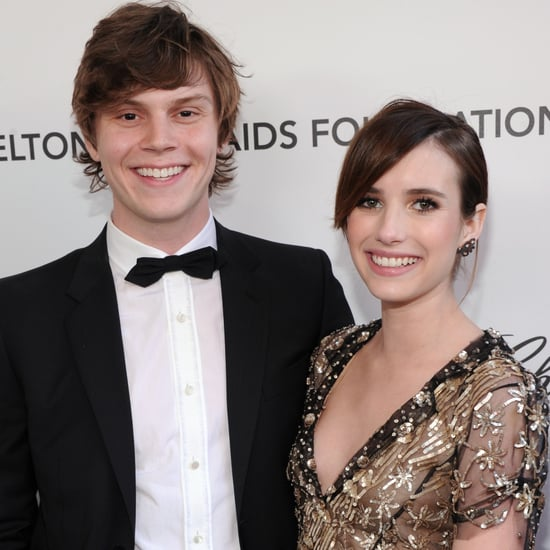 Emma Roberts and Evan Peters Pictures