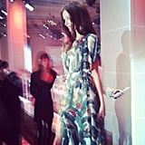 """We met a """"prettier, glossier and tinier in real life"""" Miranda Kerr at David Jones' Spring Summer Fashion Launch."""