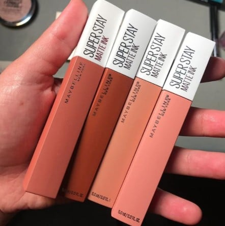 Maybelline SuperStay Matte Ink Un-Nude Lip Colors