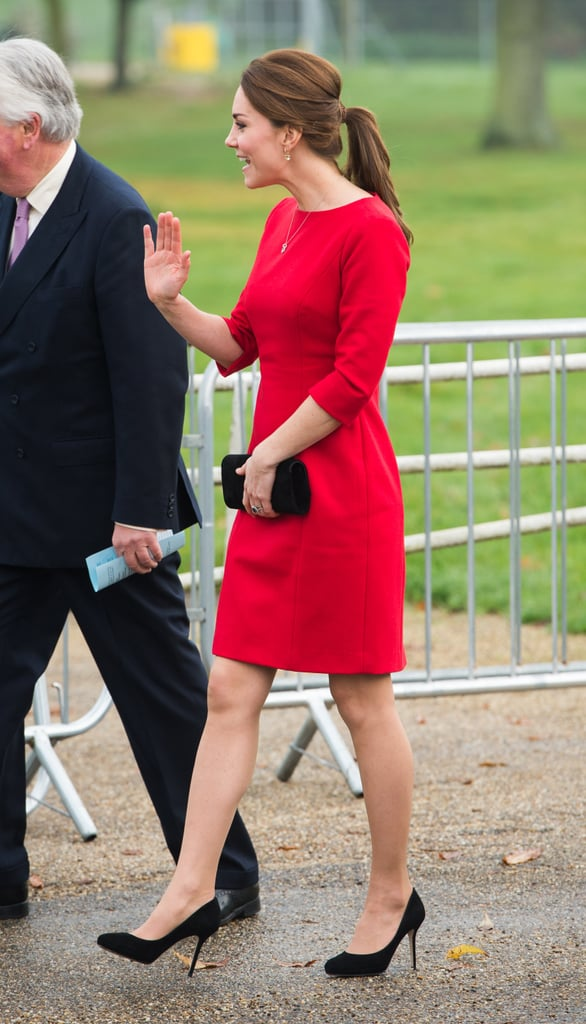 Kate Waved to All the Patrons
