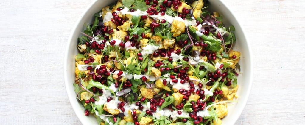Spiced Cauliflower Salad with Kefir Dressing Recipe