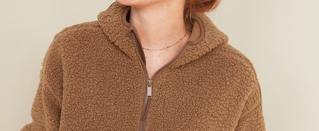 Cosy Sherpa Hoodie From Old Navy | Editor Review