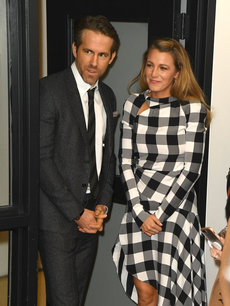Blake Lively and Ryan Reynolds at Final Portrait Premiere