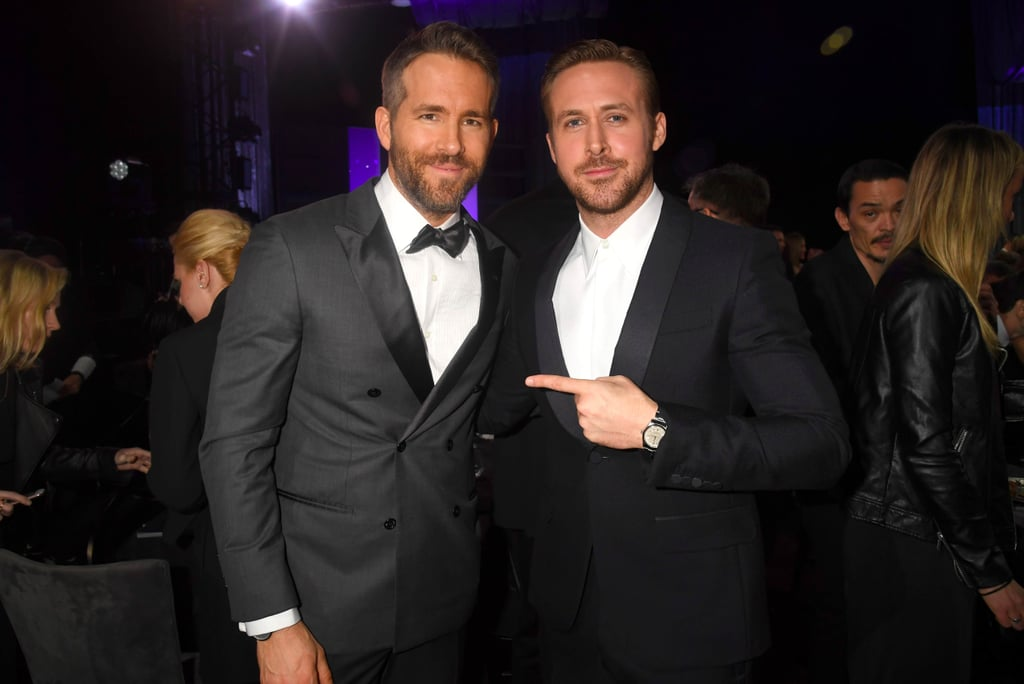 Ryan Gosling Ryan Reynolds at 2017 Critics' Choice Awards