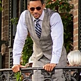 Will Smith was in New Orleans to shoot scenes for the upcoming film Focus.