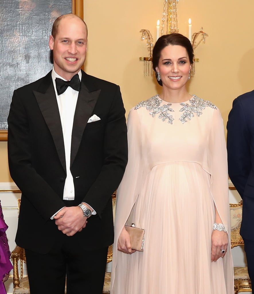 When They Got All Dressed Up For Dinner at the Royal Palace