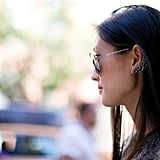 Her ear cuff deserves a closer look.