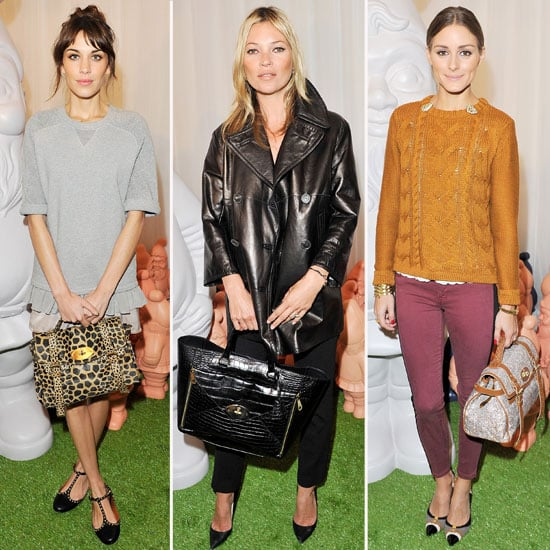 Kate Moss, Alexa Chung, Olivia Palermo Style Up a Storm Front Row at London Spring 2013 Fashion Week