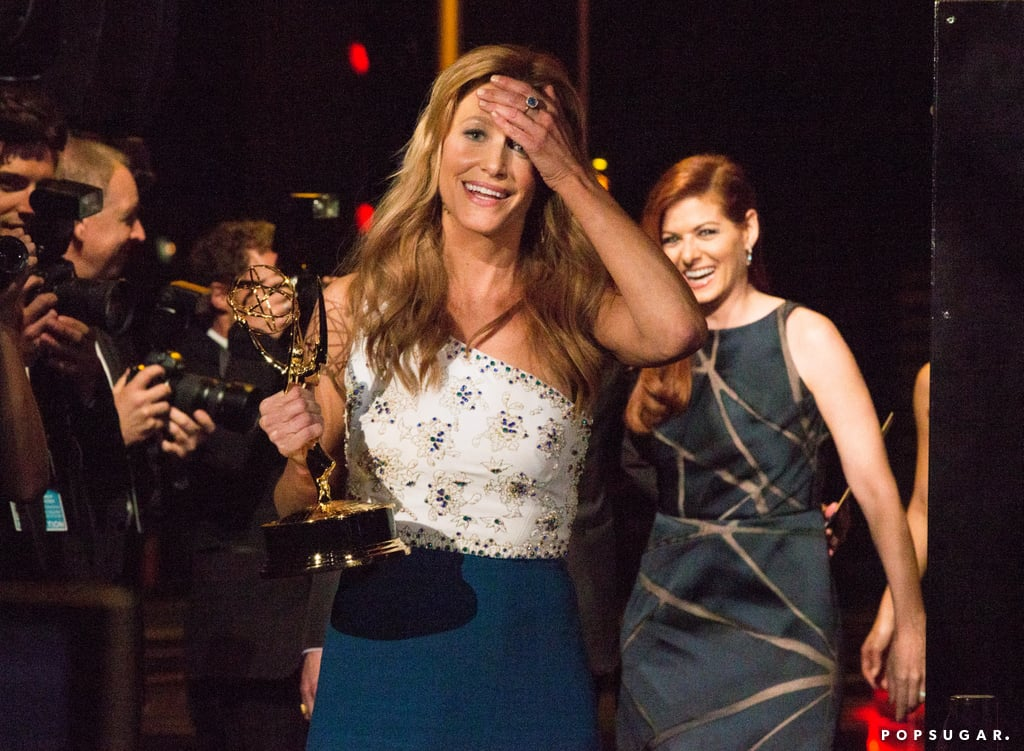 Anna Gunn was overwhelmed backstage.