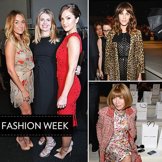 Alexa Chung, Anna Wintour, Lauren Conrad and more Celebrities on the Front Row at 2013 Spring New York Fashion Week