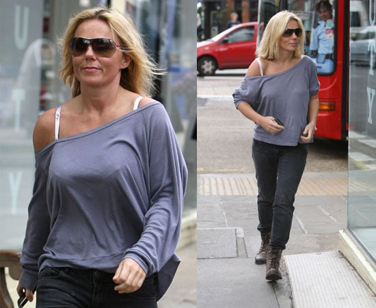 Pictures of Geri Halliwell in London Ahead of Guest Judge Role on The X Factor Auditions