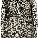 Stella McCartney Natural Leopard Alter Fur Coat ($1,528)