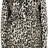 Stella McCartney Natural Leopard Alter Fur Coat ($1,528)