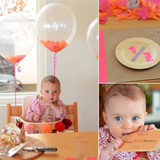 How To Throw A Half Birthday Party
