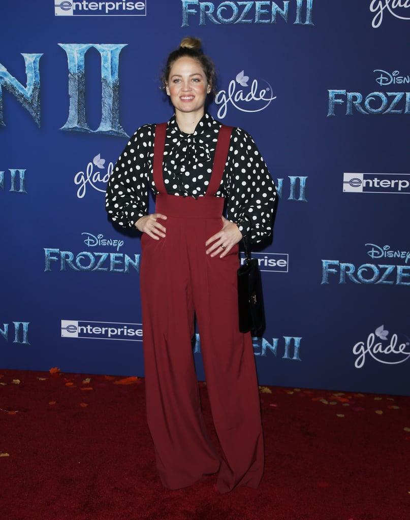 Erika Christensen at the Frozen 2 Premiere in Los Angeles