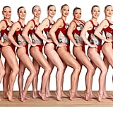 The synchronised swimming team are using Syneron Candela's new Motif salon laser hair removal system on their legs, bikini line and under armss.