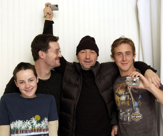 Jena Malone posed with a young Ryan Gosling, Mathew Ryan Hoge, and Kevin Spacey in 2003.