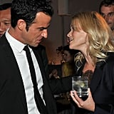 Reese Witherspoon chatted up Justin Theroux in LA.