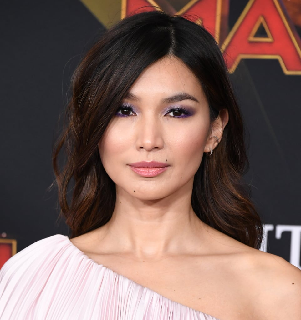 Gemma Chan's Icy Lilac Lids