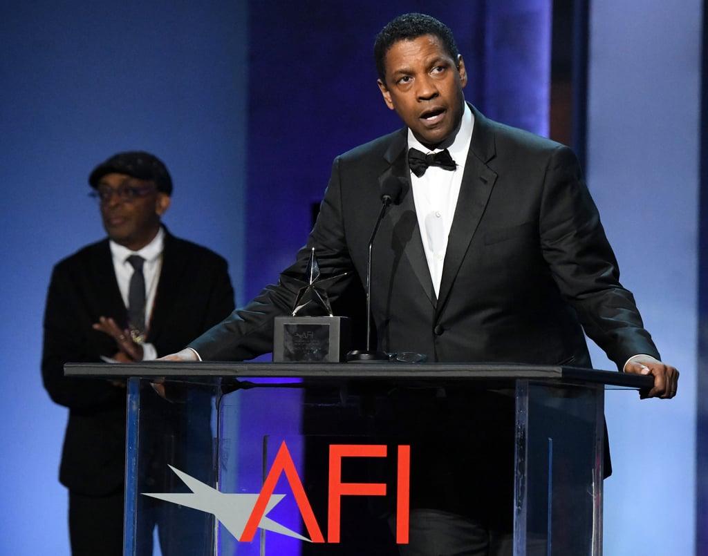 Denzel Washington at 2019 AFI Life Achievement Award Gala