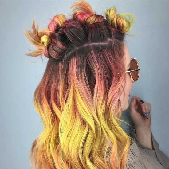 Fall Leaves Hair Color